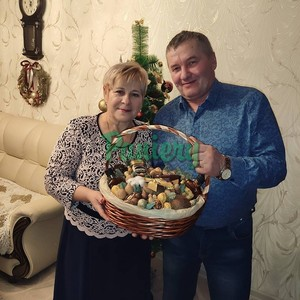 Подарочная корзина на ул. Ленинскую