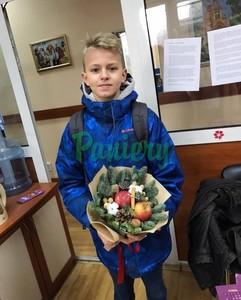 Подарочный букет на ул. Буянова